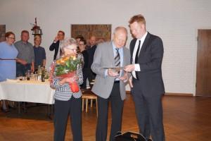 Henning Thorup hyldes for 50 år som medlem af Randers Fodbolddommerklub