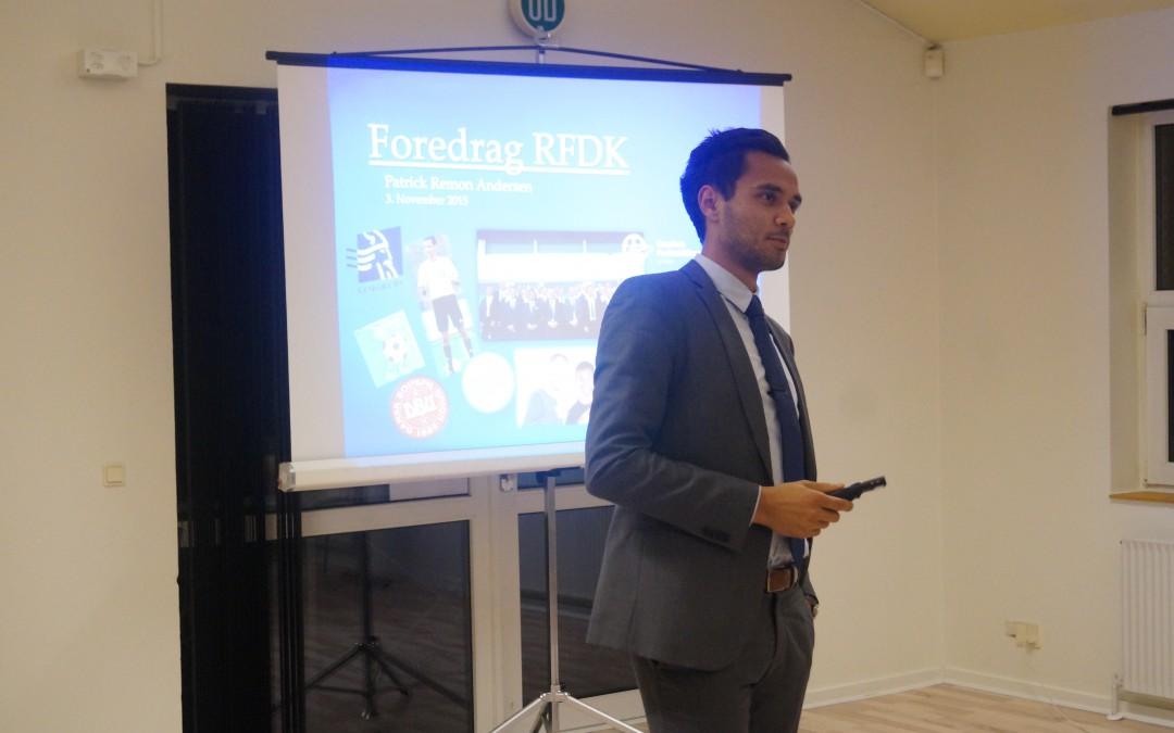 Novembermøde med foredrag af Patrick Remon