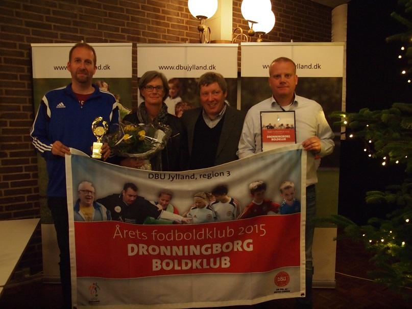 Dronningborg Boldklub – årets klub i Region 3
