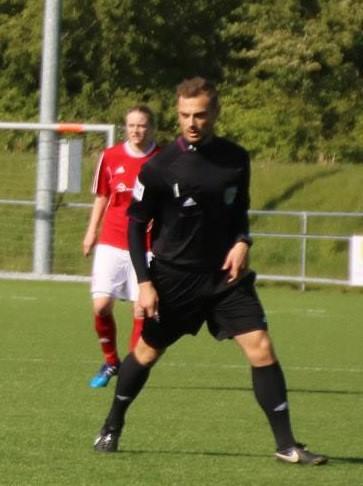 Steffen Bramsen i rampelyset på Kristrupstadion