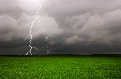 Sådan forholder vi os til tordenvejr