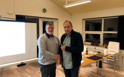 Svend Jensen udnævnt til æresmedlem