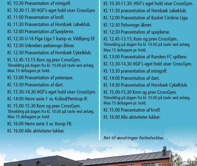 Indvielse af Hornbæk Idræt- og kulturcenter